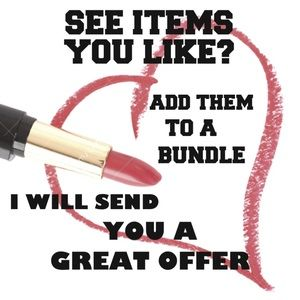 Even one item .....ADD TO A BUNDLE FOR PRICE 💖